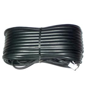 Cablu telefon extensie negru 20m RJ11
