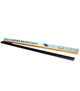 Canal cablu aluminiu 5x110cm negru