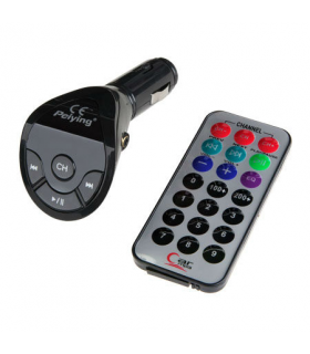 Modulator audio FM telecomanda Usb si Jack 3.5mm