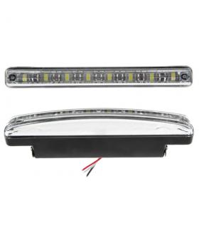 Lumini auto de zi 12V 8 LEDuri