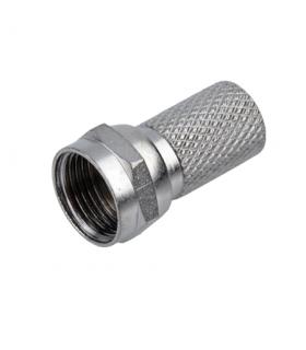 Mufa F tata 6.5mm pentru cablu coaxial