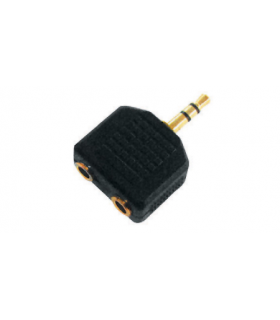 Adaptor stereo Jack 3.5mm la 2x3.5mm mama