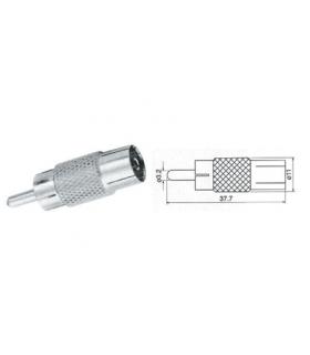 Adaptor RCA la coaxial mama Cabletech