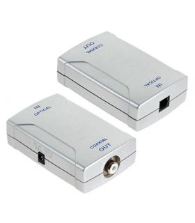 Convertor optic TOSLINK la RCA cu alimentare Cabletech