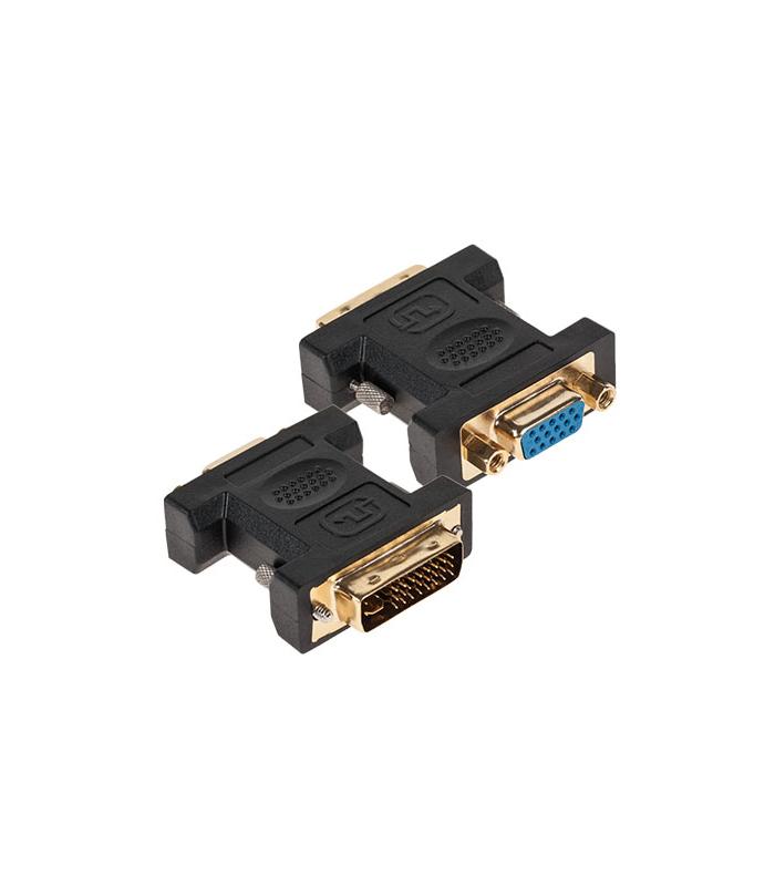Adaptor DVI-I 24+5 la VGA mama