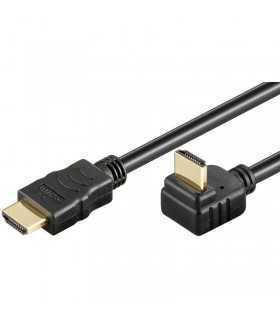 Cablu Hdmi 270 grade 5m 2.0v Ethernet 3D 4096x2160 30Hz Goobay