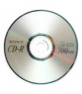 CD-R 52x 700MB SONY