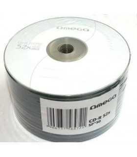 CD-R 52x 700MB bulk Omega
