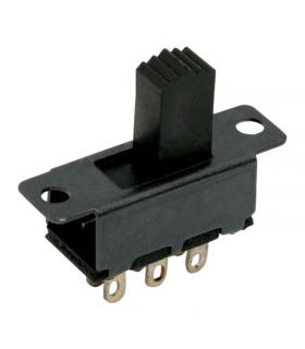 Intrerupator cu brat 2 circuit 0.5A 50VDC ON-ON