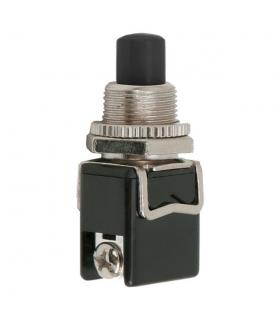 Buton 1 circuit 4A 250V ON-OFF fara retinere negru