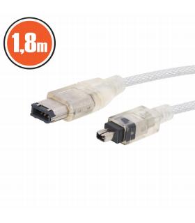 Cablu fire-wire fisa 4P. - fisa 6p. 1.8 m