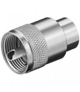 Mufa UHF tata 10mm RG213U Goobay
