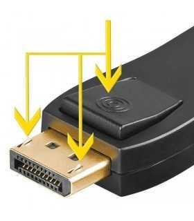 Adaptor DisplayPort la HDMI mama Goobay