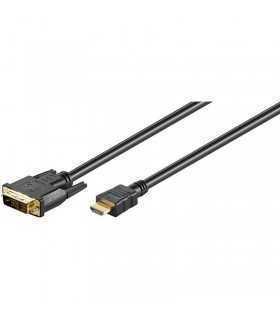 Cablu Hdmi la Dvi-d 18+1 5m Goobay