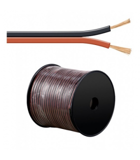 Cablu boxe 2x2.5mm rosu/negru Goobay