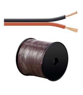 Cablu boxe 2x4mm rosu/negru Goobay