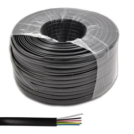 Cablu telefonic 6 fire negru Cabletech