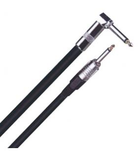 Cablu chitara Jack 6.35m la Jack 6.35m 90 6m
