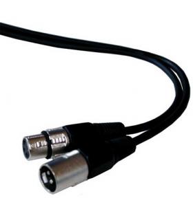 Cablu prelungitor XLR tata la XLR mama 20m ibiza