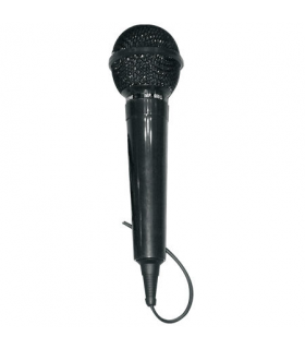 Microfon uni-directional dinamic plastic DM-202 Jack 6.3mm 600 ohm 100-8000Hz 2m