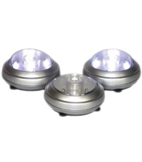 Set 3 lampi 5 LEDuri
