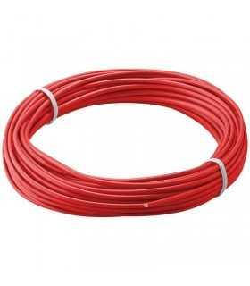 Cablu cupru multifilar izolat 10m rosu 1x0.14mm Goobay