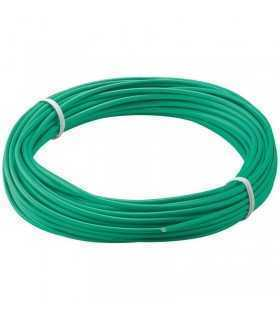 Cablu cupru multifilar izolat 10m verde 1x0.14mm Goobay