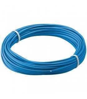 Cablu cupru multifilar izolat 10m albastru 1x0.14mm Goobay