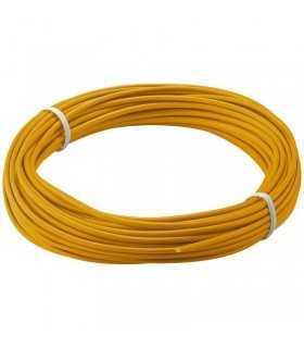 Cablu cupru multifilar izolat 10m orange 1x0.14mm Goobay