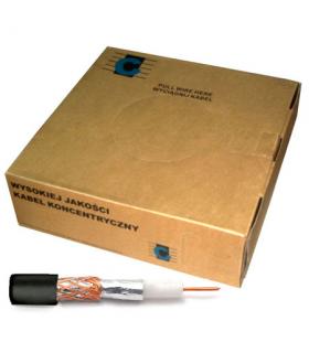 Cablu coaxial RG59U negru 200m Cabletech