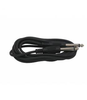 Cablu microfon Jack 6.3mm mono la 6.3mm mono 1m