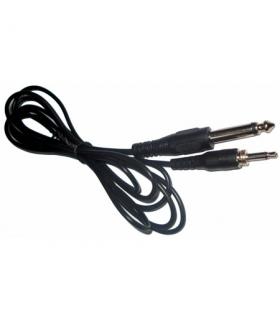 Cablu audio Jack 3.5mm la 6.3mm 2m