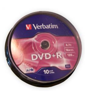 DVD+R 4.7GB 16x cake 10buc