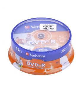 DVD-R 4.7GB 16x printable 25buc