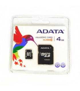 Card ADATA clasa 4 microSD 4GB cu adaptor SD