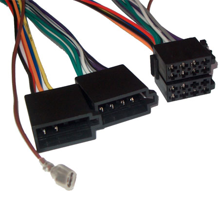 Cablu prelungitor auto 2 ISO la ISO lipit pentru radio auto