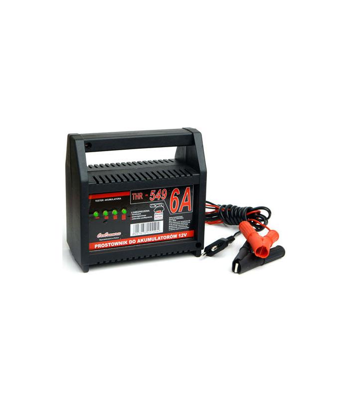 Incarcator acumulatori 12V 6A cu indicator