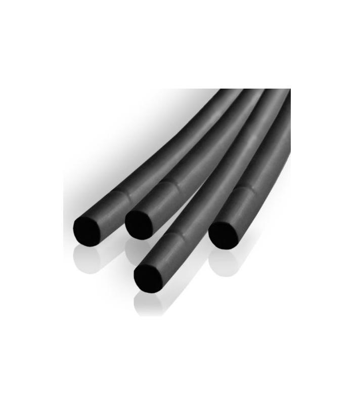 Tub termocontractabil 2mm/ 1mm negru 0.5m Kemot