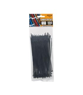 Coliere plastic 150x2.5mm negre 100buc Handy