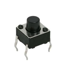 Buton microinterupator OFF-ON buton 3 mm fara retinere 1 circuit 0.05A-12VDC 09002