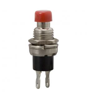 Buton 1 circuit 12VDC on-off rosu