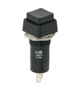 Intrerupator 1 circuit 1A 250V OFF-ON negru 09024FK cu retinere