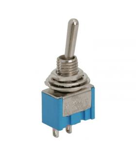 Comutator cu brat 1 circuit 3A 250V OFF-ON 09016