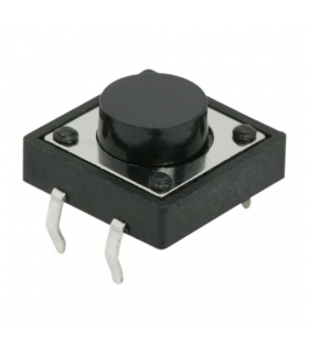 Buton microinterupator 1 circuit 0.05A-12VDC OFF-ON buton 3 mm fara retinere 09040