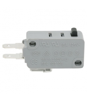 Microinterupator 1 circuit 16(4)A 250V ON-ON 09008