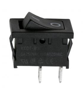 Interupator basculant 1 circuit 6A 250V OFF-ON