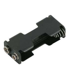 Suport 2x AA baterie cu mufa baterie de 9V