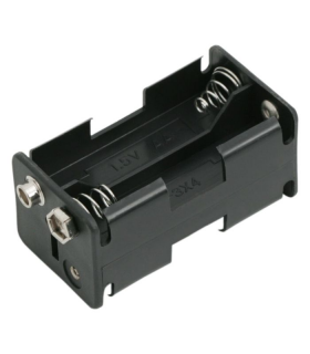 Carcasa baterii 4buc AA cu mufa de conectare 9V