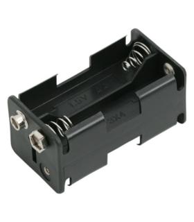 Suport baterii 4x AA cu mufa de conectare 9V