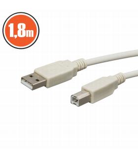 Cablu Usb2.0 fisa A la fisa B 1.8m